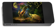 The Turtle Of The Moon Portable Battery Charger
