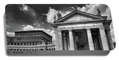 The Tuscan Colonnades In The Vatican Portable Battery Charger