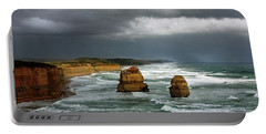 The Twelve Apostles Portable Battery Charger by Marion Cullen