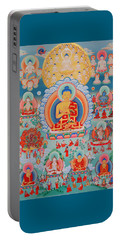 The Twelve Primordial Teachers Of Dzogchen - Tonpa Chu Ni Portable Battery Charger