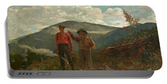 The Two Guides Portable Battery Charger by Winslow Homer