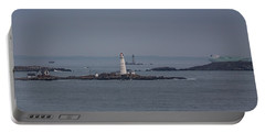 The Two Harbor Lighthouses Portable Battery Charger