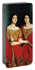 The Two Sisters Portable Battery Charger by Theodore Chasseriau