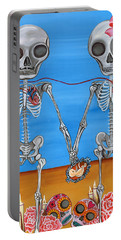 The Two Skeletons Portable Battery Charger