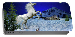 The Ultimate Return Of Unicorn  Portable Battery Charger by William Lee
