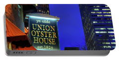 Portable Battery Charger featuring the photograph The Union Oyster House - Boston by Joann Vitali