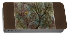 The Universe In A Tree Portable Battery Charger by Lenore Senior