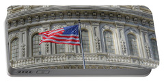 The Us Capitol Building - Washington D.c. Portable Battery Charger