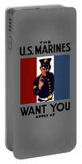 The U.s. Marines Want You  Portable Battery Charger