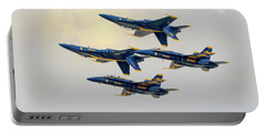 The U.s. Navy Blue Angels Portable Battery Charger