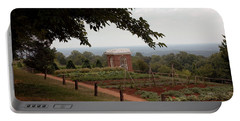 The Vegetable Garden At Monticello Portable Battery Charger