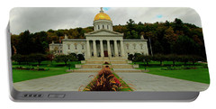 The Vermont State Capital Building Portable Battery Charger