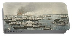 The Victorious Attack On Fort Fisher, 1865 Portable Battery Charger