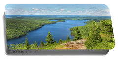 Portable Battery Charger featuring the photograph The View From Beech Mountain by John M Bailey