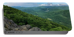 Portable Battery Charger featuring the photograph The View From Raven's Roost by Lori Coleman