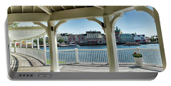 The View From The Boardwalk Gazebo At Disney World Mp Portable Battery Charger