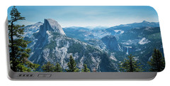 Portable Battery Charger featuring the photograph The View- by JD Mims