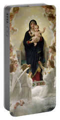 The Virgin With Angels Portable Battery Charger