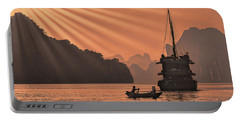 The Voyage Ha Long Bay Vietnam  Portable Battery Charger