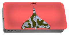 The Vulcan - White Portable Battery Charger