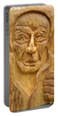 Portable Battery Charger featuring the painting The Wandering Jew by Esther Newman-Cohen