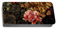 The Warmth Of Summer - Colors In The Garden Portable Battery Charger