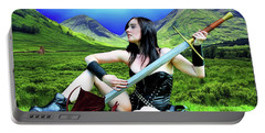 The Warrior And The Pseudo Dragon Portable Battery Charger