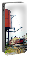 Portable Battery Charger featuring the photograph The Water Tower by Paul W Faust - Impressions of Light