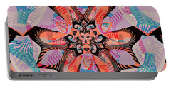 The Web Of Strawberry Fields Portable Battery Charger