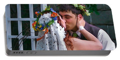 The Wedding Kiss Portable Battery Charger