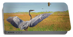 The Wetlands Dance Portable Battery Charger by Judy Kay