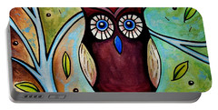 The Whimsical Owl Portable Battery Charger