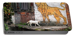 The White Cat Portable Battery Charger