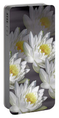 The White Garden Portable Battery Charger