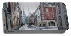 The White Grand Canal Street Maastricht Portable Battery Charger by Nop Briex