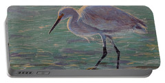 The White Heron Portable Battery Charger