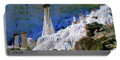 The White Hoodoos Portable Battery Charger