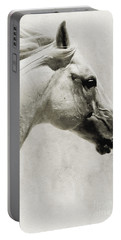 The White Horse IIi - Art Print Portable Battery Charger