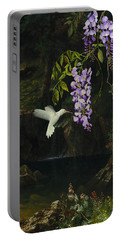 The White Hummingbird Portable Battery Charger