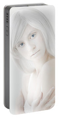 The White Woman Portable Battery Charger by Diane Diederich