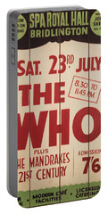 The Who 1966 Tour Poster Portable Battery Charger