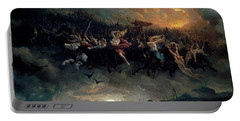 The Wild Hunt Of Odin Portable Battery Charger