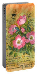 The Wild Rose Portable Battery Charger