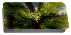 Portable Battery Charger featuring the photograph The Wind by Elfriede Fulda