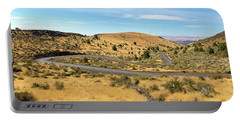 The Winding Road In Central Oregon Portable Battery Charger