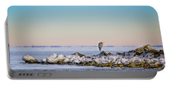 The Winter Heron Portable Battery Charger