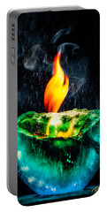 The Winter Of Fire And Ice Portable Battery Charger