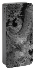 The Old Owl That Watches Blk Portable Battery Charger