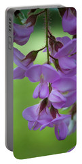 Portable Battery Charger featuring the photograph The Wisteria by Mark Dodd