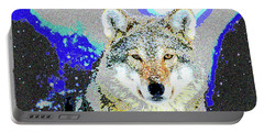 The Wolf Portable Battery Charger by Charles Shoup